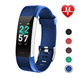 LETSCOM Fitness Tracker Color Screen, Activity Tracker with Heart Rate Monitor, Sleep Monitor, Step Counter,...