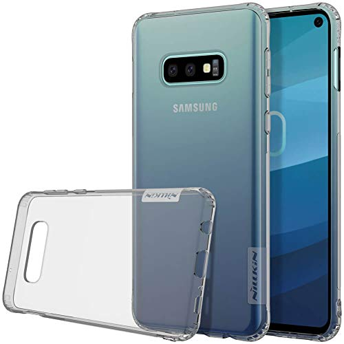 Nillkin Nature Ultra Thin Soft Silicone TPU Back Cover for Samsung Galaxy S10e- Grey