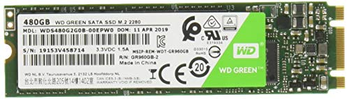 Western Digital WD Green 480 GB M.2 2280 SATA Internal Solid State Drive (WDS480G2G0B) 49
