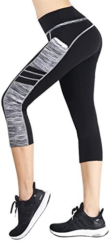 Sugar Pocket Women's Workout Leggings Running Tights Yoga Pants 1