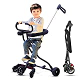 Beebeerun Lightweight Baby Stroller Baby Cart Portable Stroller with Brake and Safety System for Toddler 2-8 Years Old