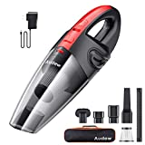 Audew Cordless Handheld Vacuum, Hand Vacuum Cordless Rechargeable Pet Hair Vacuum, Car Vacuum Cleaner for Home and Car Cleaning