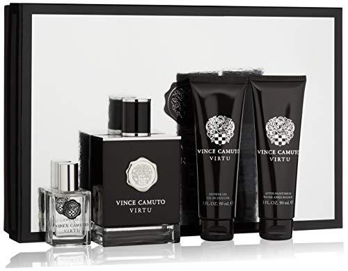 Vince Camuto Virtu Cologne Gift Set for Men, 10 Fl Oz