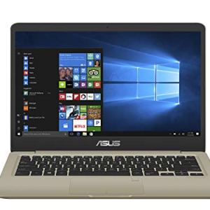 ASUS VivoBook X411QA AMD Quad Core A12-9720P 14-inch FHD Thin and Light Laptop (8GB RAM/512GB NVMe SSD/Windows 10/Integrated Graphics/Gold/1.43 kg), X411QA-EK202T