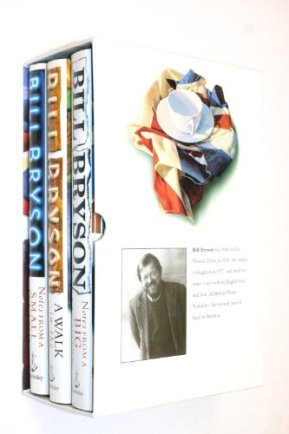 Bill Bryson Box Set, holidays, Christmas, gift ideas, stocking stuffers, backcountry lover