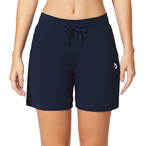"Baleaf Women's 5"" Activewear Yoga Lounge Shorts with Pockets 3 Fashion Online Shop gifts for her gifts for him womens full figure"