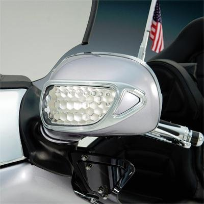 Show Chrome Accessories 52-808 Contours Mirror Accent