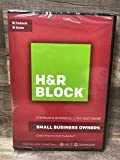 H&R Block 2017 Premium & Business-Small Business Owners -Federal & State -tax software traditional disc plus download