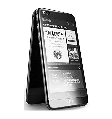 Yota 3 YotaPhone 3 Dual SIM 5.5 inches Android 7.1.1 Octa-core 64GB ROM NFC Fingerprint Smartphone