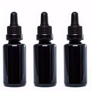 UltravioLeaf Glass Dropper Bottle 30ml 3 Pack