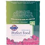 Garden of Life Organic Perfect Food Whole Food Green Bars Red Raspberry -- 12 Bars
