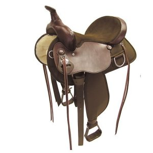Fabtron Lady Trail Flex-Tree Western Saddle 16