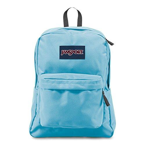 JanSport Superbreak Backpack - Blue Topaz- Classic, Ultralight