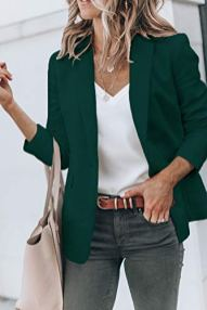Cicy Bell Womens Casual Blazers