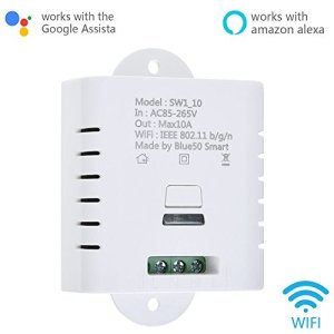 DIY Smart Wifi Plug Switch Socket Outlet, Wireless Remote Control Electrical Module For Household Appliances, Works With Amazon Alexa Echo,Google Assistant (1)