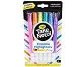 Crayola Take Note Chisel Tip Erasable Highlighters, Stocking Stuffer, Age 6+ - 6Count