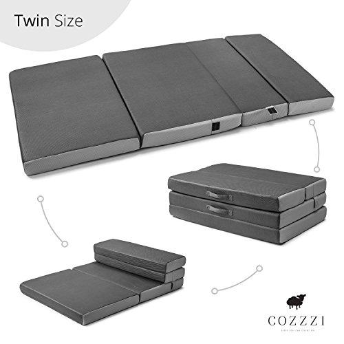 Cozzzi Twin Folding Mattress - 4