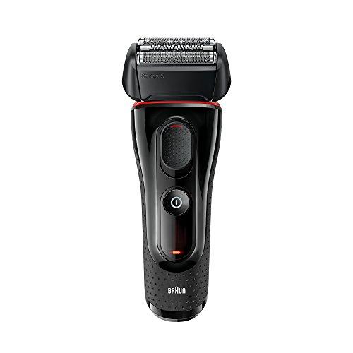 Braun Series 5 5030s Men's Electric Razor/Electric Foil Shaver, Pop Up Precision Trimmer, Rechargeable & Cordless