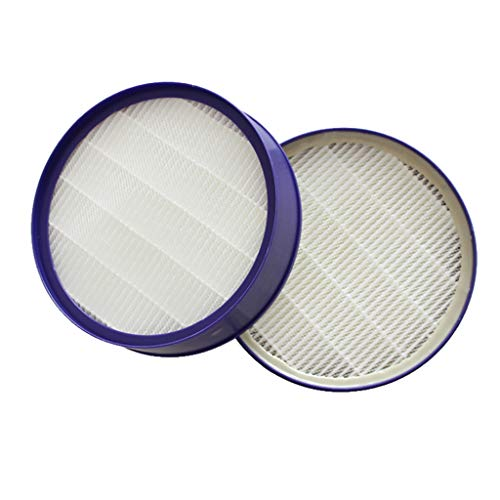 Iusun 2PC HEPA Filter Filter Element Replacement Parts Kits For Dyson DC27 DC28 Vacuum Cleaner Clearing Accessories Set (gray)
