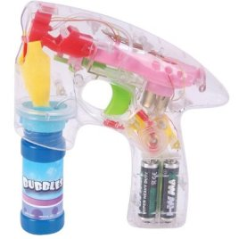 Bubble Gun Educational Products – Light Up Battery Operated Bubble Gun – Battery Operated Bubble Gun