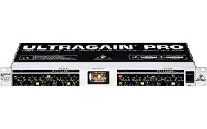 Behringer Ultragain Pro Mic2200 High-Precision Vacuum Tube Microphone/Line Preamplifier