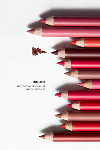 Me Now Super Matte Lip Liner Pencil (Set Of 12) – P102