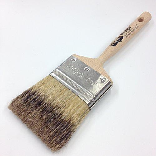 """Corona 2.5"""" Heritage Professional Badger-Style Bristle Paint Brush"""