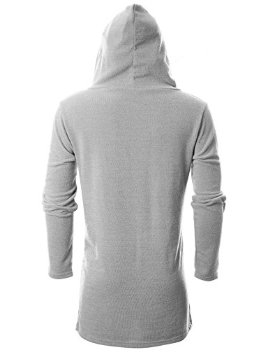 GIVON Mens Long Sleeve Draped Lightweight Open Front Longline Hooded Cardigan 3 Fashion Online Shop gifts for her gifts for him womens full figure
