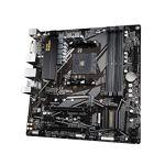 GIGABYTE B550M DS3H (AM4 AMD/B550/Micro ATX/Dual M.2/SATA 6Gb/s/USB 3.2 Gen 1/PCIe 4.0/HMDI/DVI/DDR4/Motherboard)