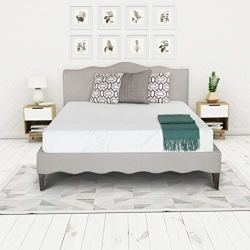 Irvine Home Collection 1500 Bed Mattress Conventional, Queen, White