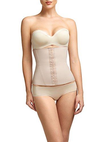 Squeem - Perfectly Curvy, Women's Firm Control Strapless Waist Cincher Beige