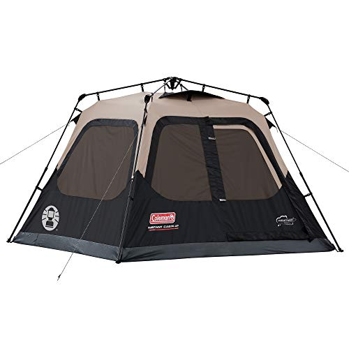 Coleman 4-Person Cabin Tent with Instant Setup |...