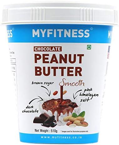 MYFITNESS Chocolate Peanut Butter Smooth 510g