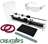 Creator's Bottle Cutter - Trusted, Reliable, Loved - Cuts Glass Wine/Beer/Liquor Bottles - Consumer's Choice Rated Number One Best in The World - Precision Made in The USA