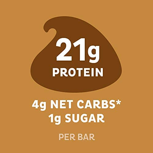 Quest Nutrition Chocolate Chip Cookie Dough Protein Bar, High Protein, Low Carb, Gluten Free, Soy Free, Keto Friendly, 12 Count 7