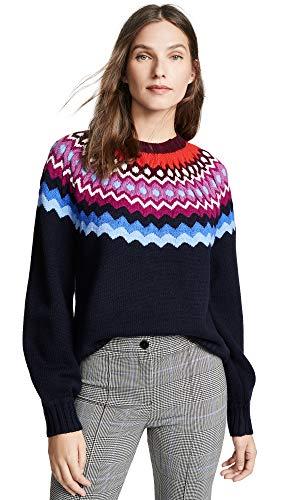81W RulhrPL Fair isle knit 70% wool/30% acrylic Hand wash