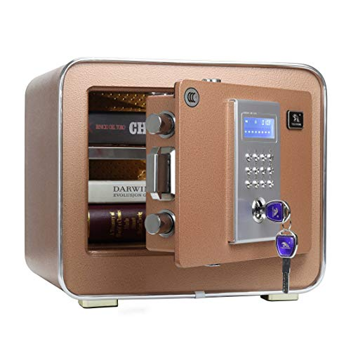 Tigerking- Heavy -Security -Safe -Box for Home, Office,Hotel, Key Plus Code Setting 0.85 Cubit