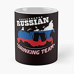 Russian Drinking Team - National Pride Classic Mug -11 Oz