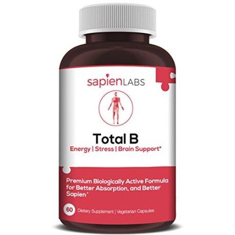 Vitamin-B-Complex-Made-in-USA-Vitamins-B12-B1-B2-B3-B5-B6-B7-B9-Folate-Methylcobalamin-Biotin-5-MTHF-Boost-Energy-Brain-Metabolism-Premium-Vegetarian-Supplement-by-Sapien-Labs