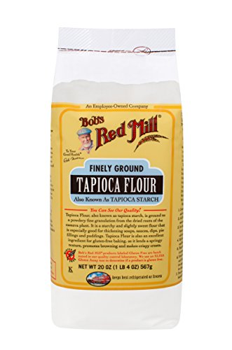 Bob's Red Mill Finely Ground Tapioca Flour, 20 Ounces (Pack of 4)