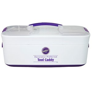 Wilton Cake Decorating Tool Box Carrier, Decorator Preferred, 43.2 x 20.3 x 20.3 cm (17 x 8 x 8 in) 41xLaaSfM7L