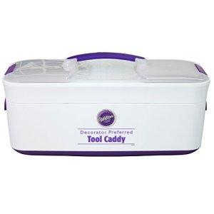 Wilton Cake Decorating Tool Box Carrier, Decorator Preferred, 43.2 x 20.3 x 20.3 cm (17 x 8 x 8 in) 41xLaaSfM7L
