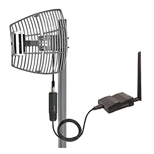 CC Vector Extended Long Range WiFi Repeater System 2.4 GHz- Extends WiFi Coverage to a Distant Location