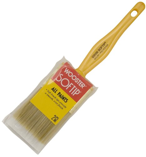 Wooster Brush Q3108-2 Softip Paintbrush, 2-Inch