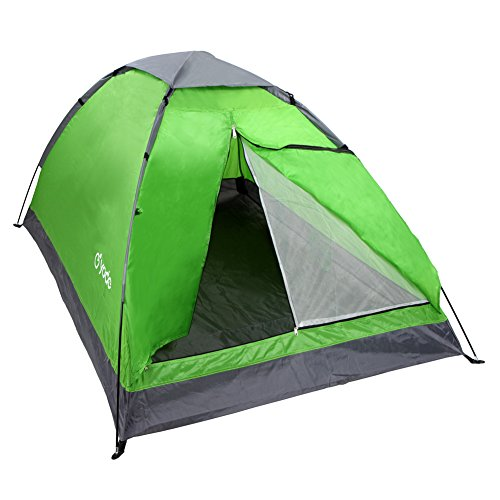 yodo Upgraded Lightweight 2 Person Camping Backpacking Tent with Carry Bag, Green