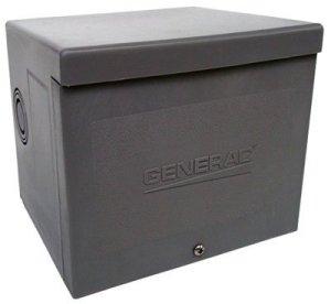 Generac 6336 20-Amp 125/250V Power Inlet Box by Generac