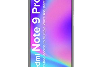 Redmi Note 9 Pro (Interstellar Black, 4GB RAM, 64GB Storage)- Latest 8nm Snapdragon 720G & Alexa Hands-Free