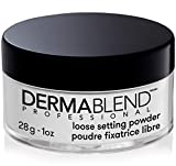 Dermablend Loose Setting Powder, Translucent Powder for Face Makeup, Mattifying Finish and Shine Control, 1oz
