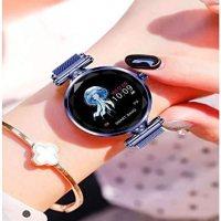 Akıllı Saat Bluetooth Özellikli H1 Su Geçirmez Kadın (mor) 17