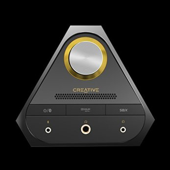 Creative Sound Blaster X7 High-Resolution USB DAC 600 ohm Headphone Amplifier with Bluetooth Connectivity